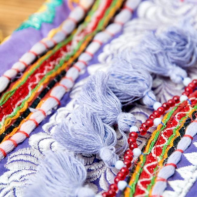 【ブラック系】選べるデザイン!カッチ刺繍のスクエアポシェット 4 - こちらよりお選び下さい。
