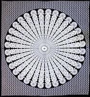 マルチクロス - マンダラ【約205cm×約230cm】
