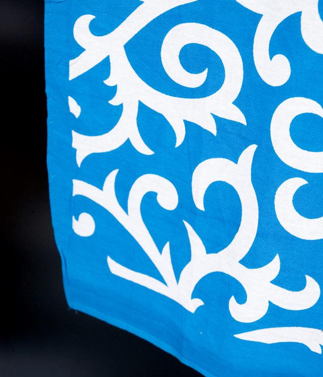 マルチクロス - 唐草【約210cm×約230cm】 3 - 縁部分の写真です