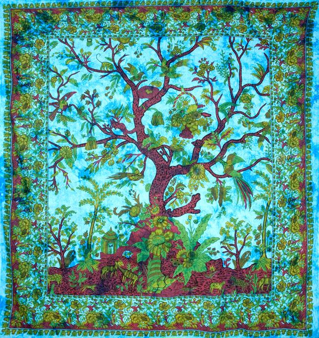 マルチクロス - 生命の木【約210cm×約225cm】の写真