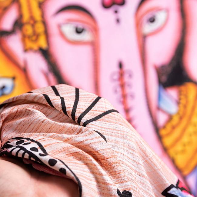 マルチクロス - ガネーシャ シヴァ神 ブッダ【約205cm×約215cm】 10 - 【選択D】ブッダはこのような雰囲気になります