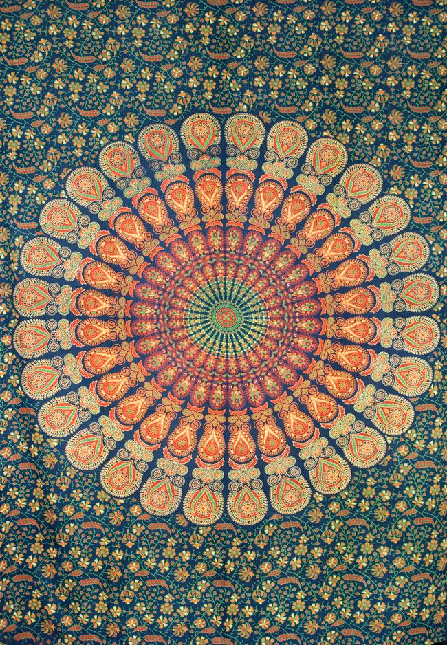マルチクロス - マンダラ【約200cm×約130cm】の写真