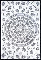 マルチクロス - 円形 象【約200c