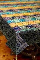 〔約105cm×105cm〕インドの金糸