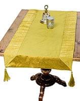 〔約140cm×50cm〕インドの金糸入