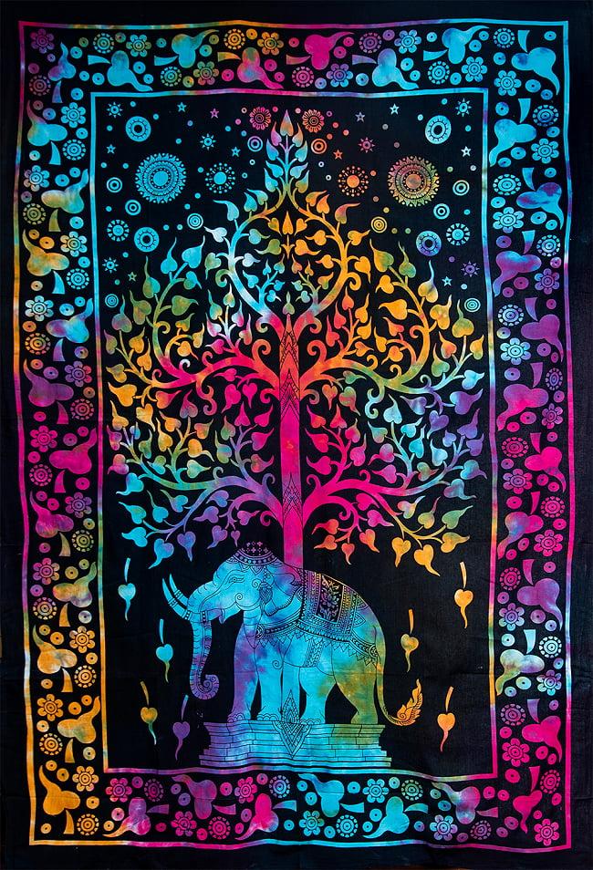マルチクロス - 生命の木【約194cm×約134cm】の写真
