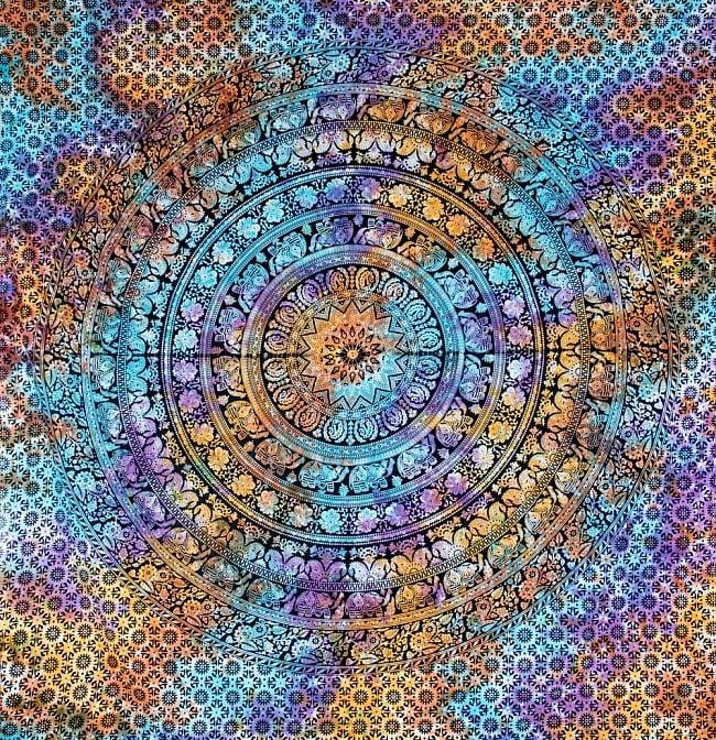 マルチクロス - ホーリーカラーマンダラ【約220cm×約200cm】の写真