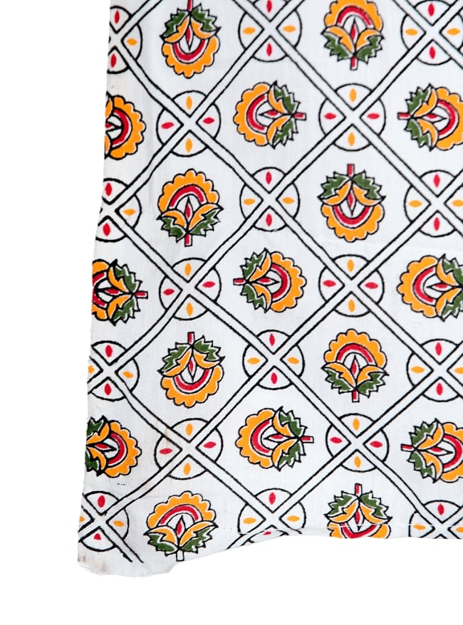 マルチクロス - マンダラ【約224cm×約196cm】の写真3 - 縁部分の写真です
