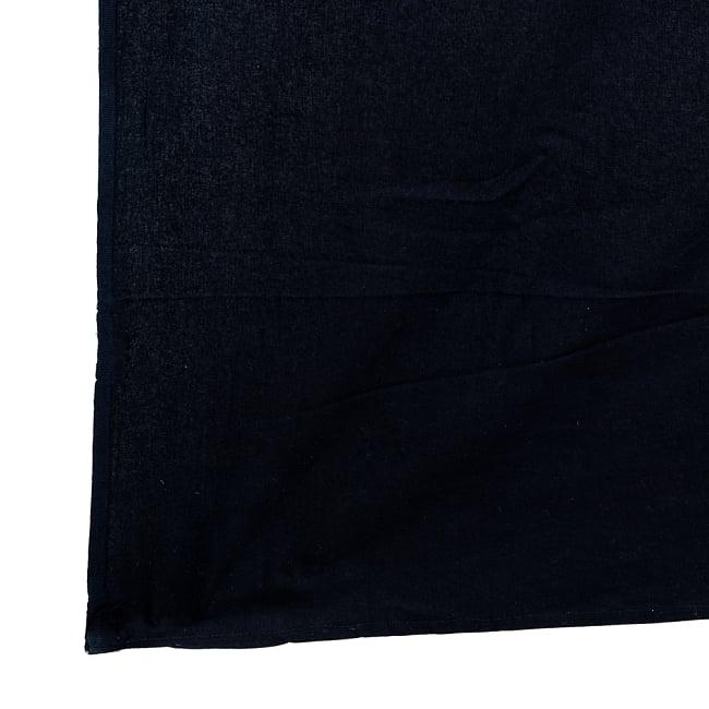 マルチクロス - モノトーンドリームキャッチャー〔約224cm×約195cm〕 3 - 縁部分の写真です