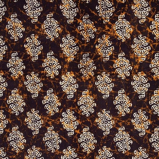 マルチクロス 小花模様〔190cm×132cm〕 2 - 中心部分の拡大写真です。とても迫力があるデザインです。