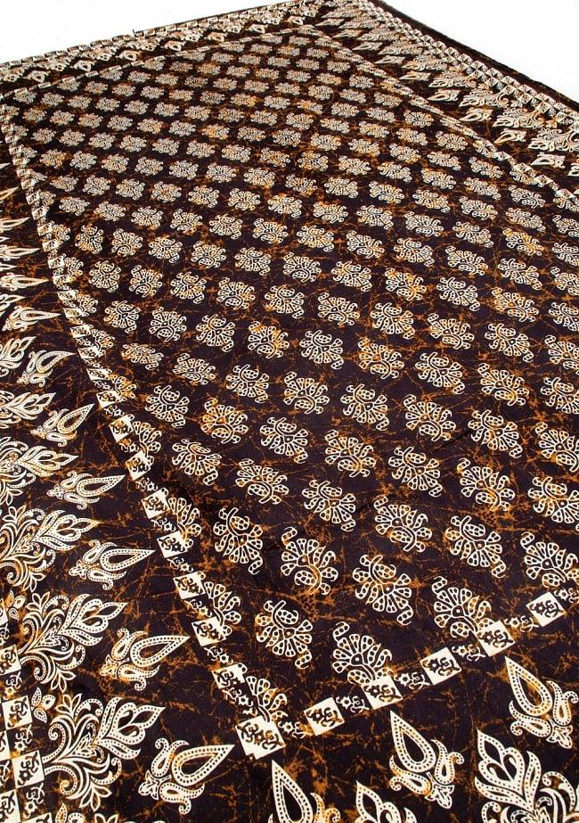 マルチクロス 小花模様〔190cm×132cm〕 4 - 斜めに撮ってみたところです