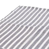〔225cm×150cm〕柔らか手触りのイタワ織りマルチクロス - グレー×ベージュ