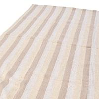 〔225cm×150cm〕柔らか手触りのイタワ織りマルチクロス - ベージュ