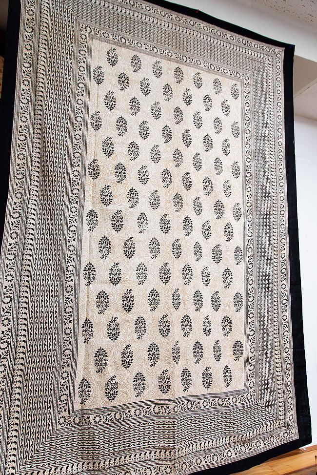 マルチクロス - ウッドブロックスタイル【約200cm x 136cm】の写真