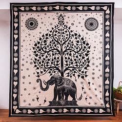 マルチクロス - 生命の樹 ナチュラルカラー〔約204cm×約221cm〕の商品写真
