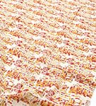 【ウッドブロック】カディコットン風マルチクロス - 物語柄(赤×黄色系)【240cm×150cm】