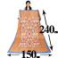ベッドカバーサイズ:インド綿マルチクロス