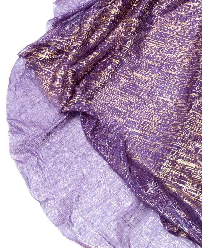 ベリーダンス衣装 スカート・ブラ 上下セット - 紫 11 -