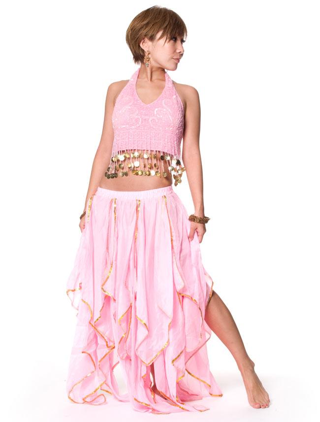 ベリーダンス フェアリーシフォンスカートの写真