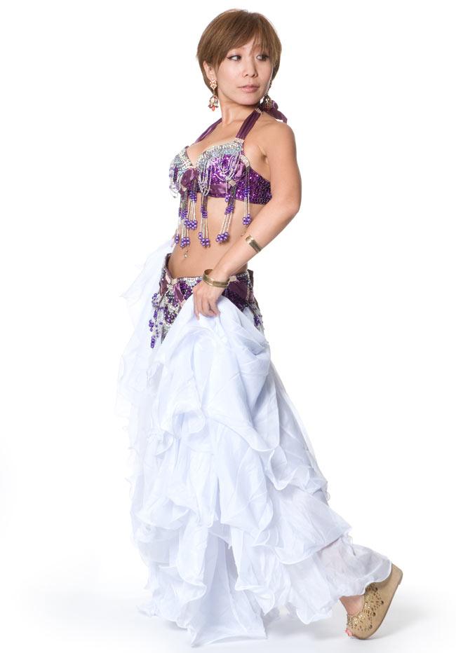 ベリーダンス衣装 ブラ&ベルトセットの写真2 -