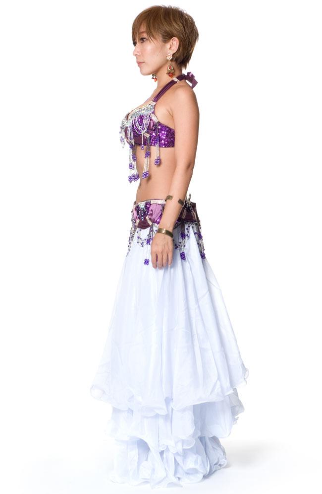 ベリーダンス衣装 ブラ&ベルトセットの写真3 -