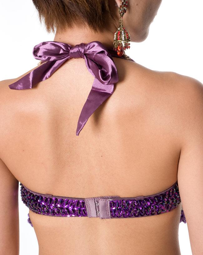 ベリーダンス衣装 ブラ&ベルトセットの写真7 -