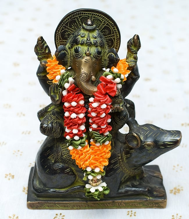 インドの花飾り【マーラー】小の写真