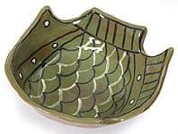 ミティラー村のお魚ディッシュ - 緑