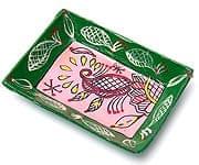 ミティラー村のカラフル飾り皿 -