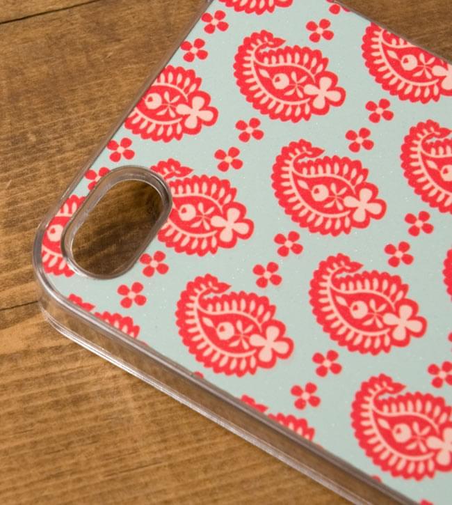 ウッドブロックデザイン【ティラキタオリジナルiPhone5ケース】の写真3 - 実際のケースを拡大しました