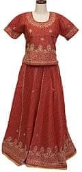 インドのドレス-チャニヤ・チョウリ
