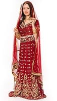インドのウェディングドレス