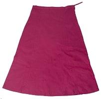 サリーの下に着るペチコート 赤