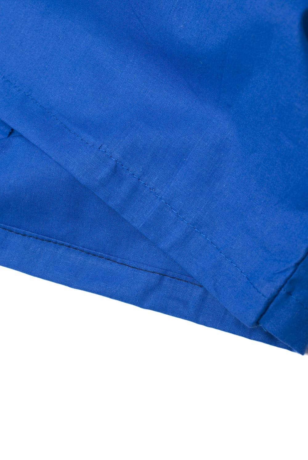 サリーの下に着るペチコート ブルー 2 - 裾はこんな感じです