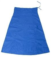 サリーの下に着るペチコート ブルー