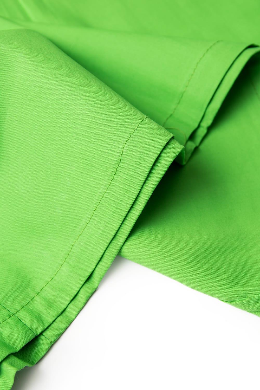 サリーの下に着るペチコート - ライトグリーン 2 - 裾はこんな感じです