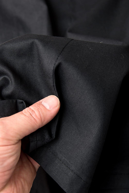サリーの下に着るペチコート - ブラック 3 - 透け感のない生地なので安心ですね。