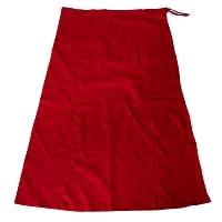 サリーの下に着るペチコート - 濃赤