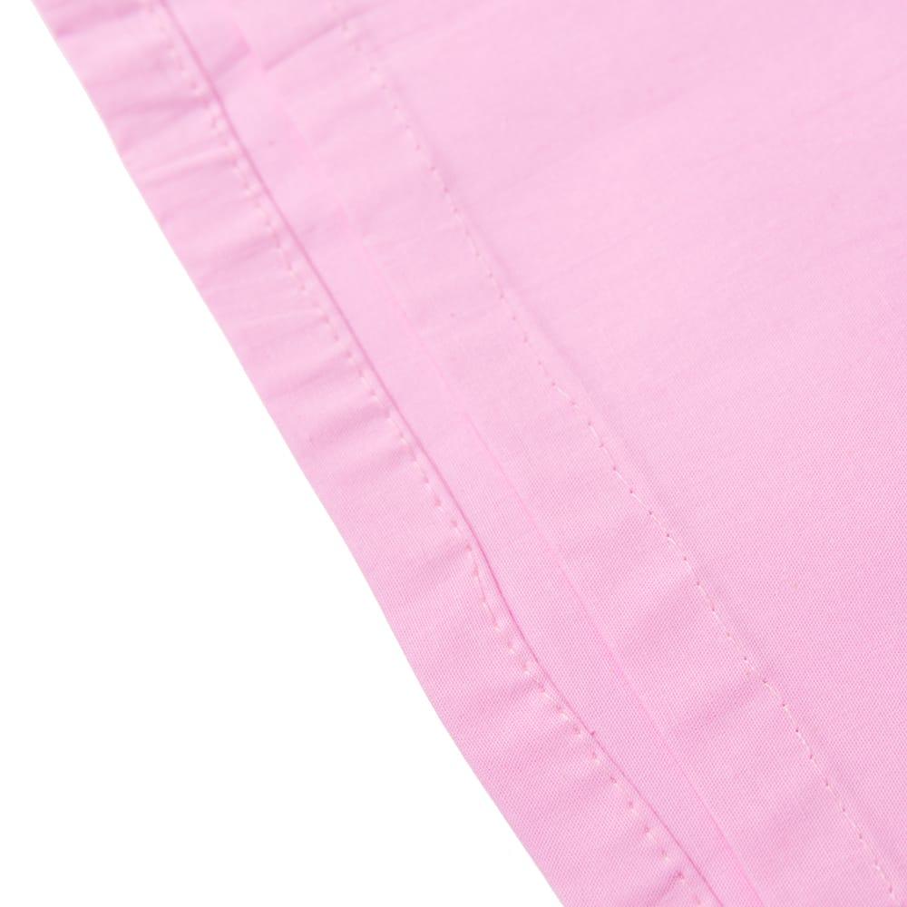 サリーの下に着るペチコート - ベビーピンク 2 - 裾はこんな感じです