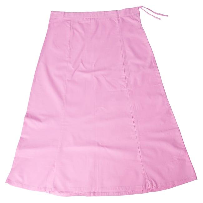 サリーの下に着るペチコート - ベビーピンクの写真