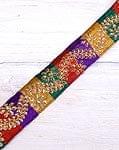 インドの伝統柄チロリアンテープ - メーター売り【太幅 約4cm】