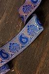 ペイズリー柄のチロリアンテープ (メーター売り・太幅 約5cm)