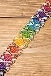 インドの伝統柄チロリアンテープ - メーター売り【幅 約3cm】