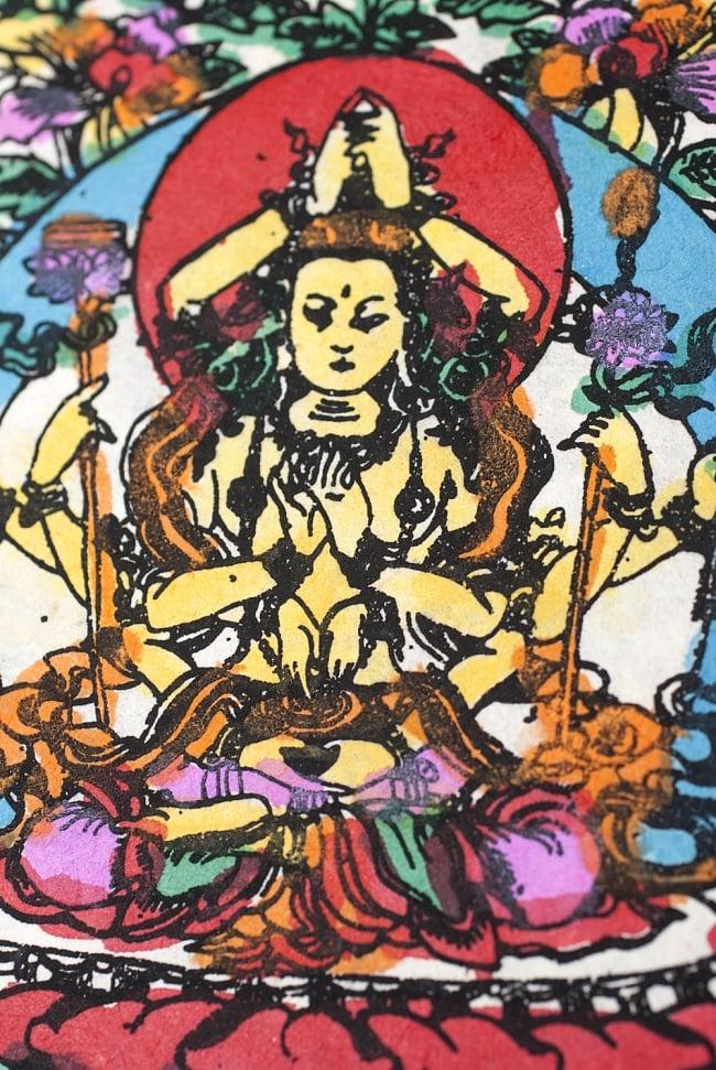 【New Year 2017年度版】ネパールのカレンダー - ブッダアイの写真3 - ネパールならではのほっこりした意匠です。