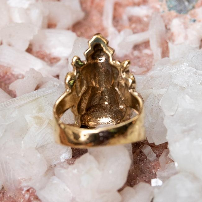 ガネーシャのリングの写真4 - 裏はこの様になっています