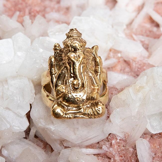 ガネーシャのリングの写真