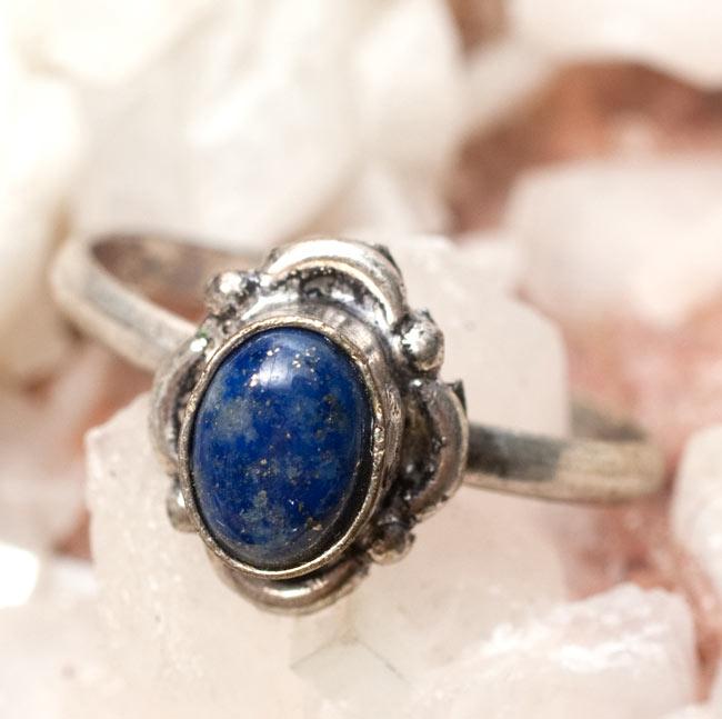 天然石のリング[アソート]の写真