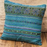 モン族刺繍の高級クッションカバ