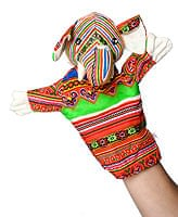 モン族の手作りパペット指人形 -