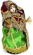 サリーの女性 【[雑貨]インドの人形:サリーを着た女性の人形】